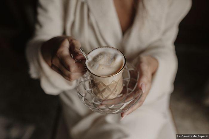 Café antes de la boda: ¿Sí o no? 1