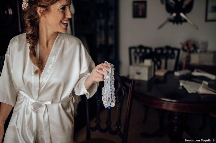Tu liga de novia: ¿la entregarás o te la quedarás? 🤔 1