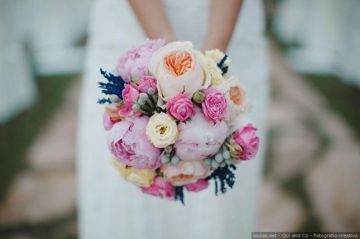 ¡3 románticos ramos de novia con peonías! 💐 1