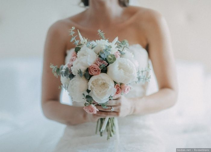 ¡3 románticos ramos de novia con peonías! 💐 2