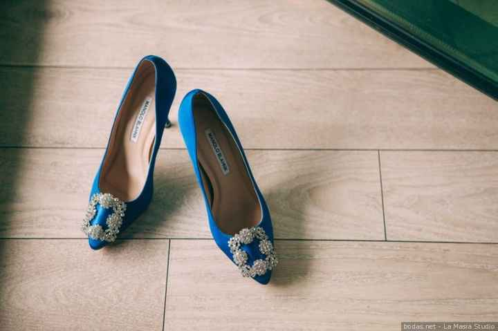 Zapatos de novia azules: ¿Sí o no? 💙 - 1