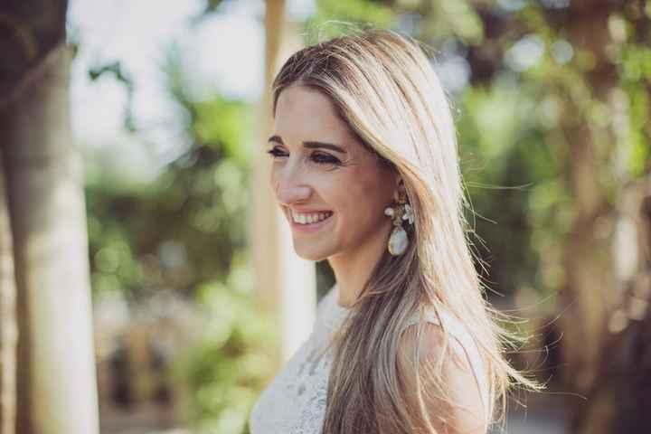 Peinados naturales para looks de novia sencillos 👇 - 3