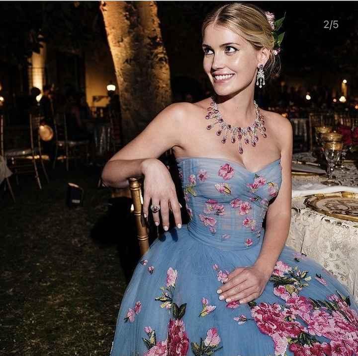 Kitty Spencer, sobrina de Diana de Gales, ¡se ha casado con 5 vestidos diferentes! 😍 - 2