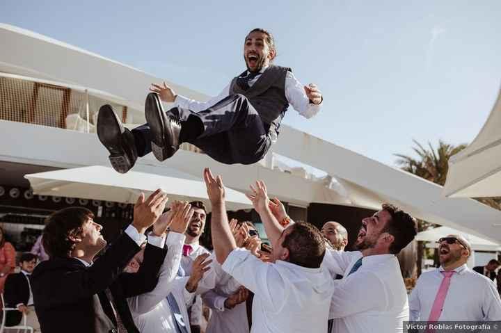 ¿El día de la boda, acabaréis volando por los aires? - 1