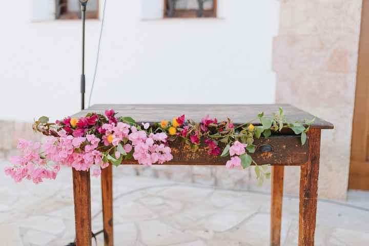¿Qué te parece esta mesa tan y tan floral? 🌸 - 1