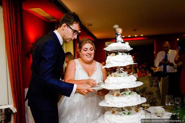 ¿Te gustaría tener una tarta de MUCHOS o POCOS pisos? - 1