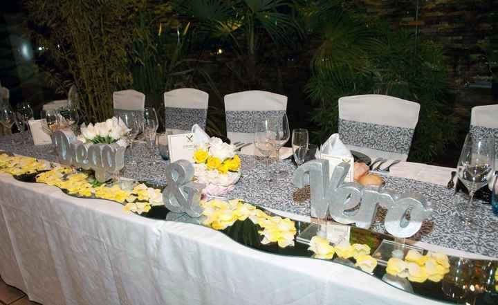 mesa de novios Diego