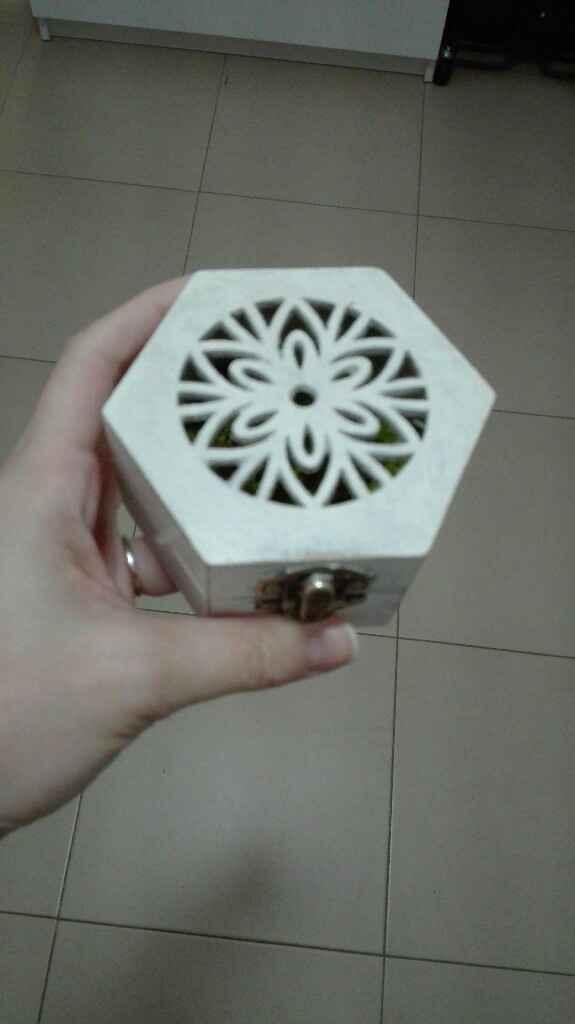 Caja de anillos y arras - 1
