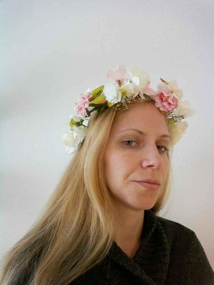 Coronas de flores para el cortejo - 1