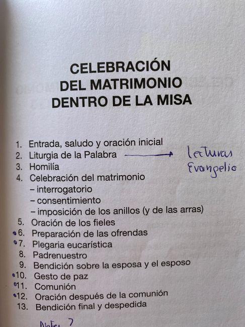 Ceremonia religiosa 1