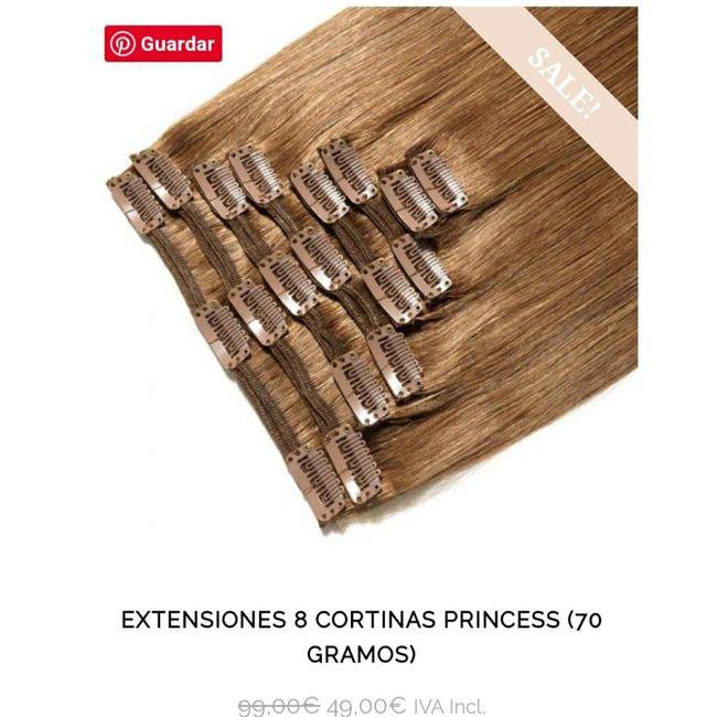 Extensiones para peinado 1