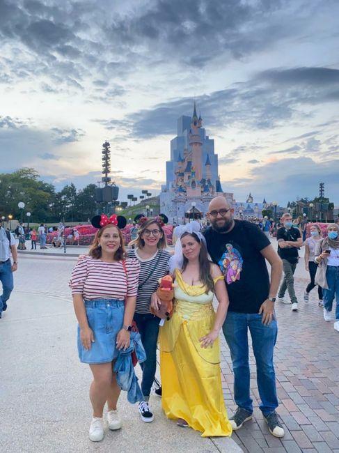 Mi despedida de soltera en Disneyland 😍 2