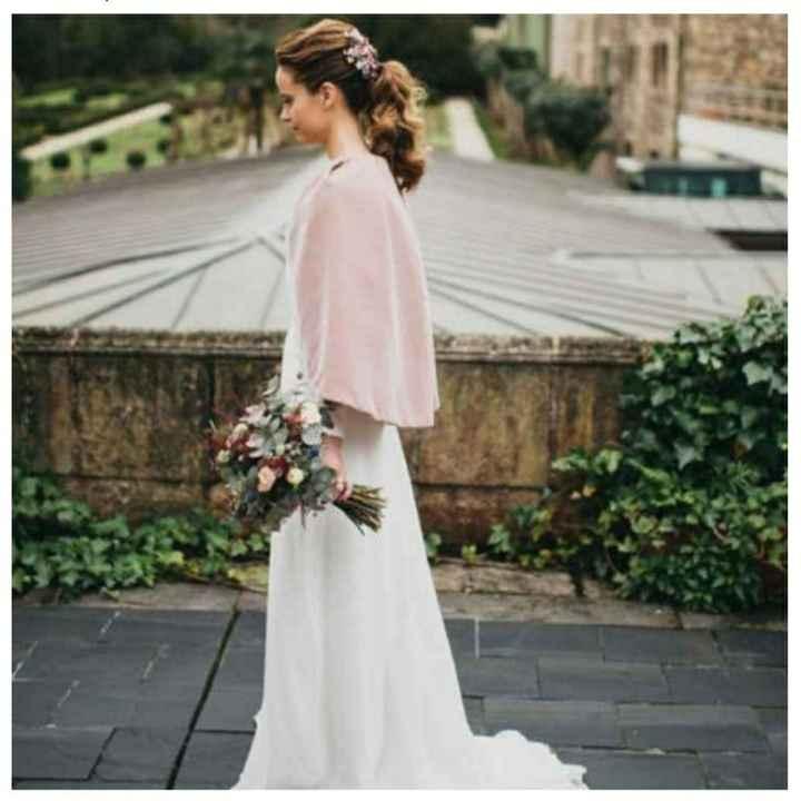 Capa de novia rosa - 1