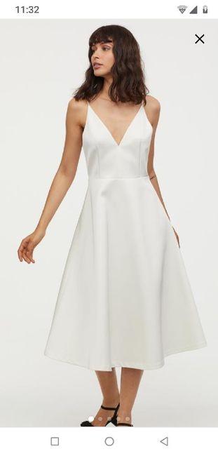 Vestido de novia (boda civil) 1