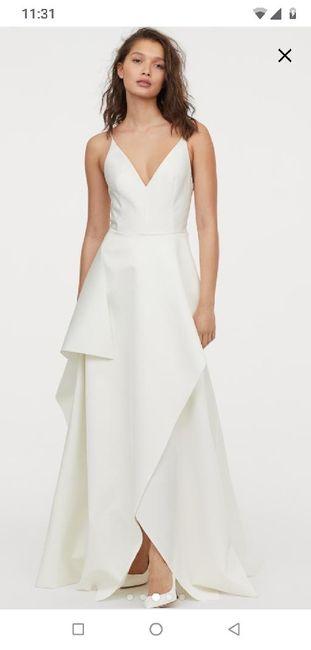 Vestido de novia (boda civil) 2