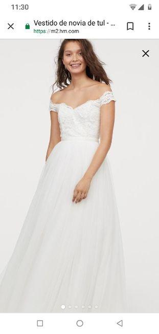 Vestido de novia (boda civil) 3