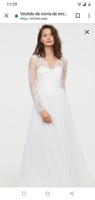 Vestido de novia (boda civil) 4