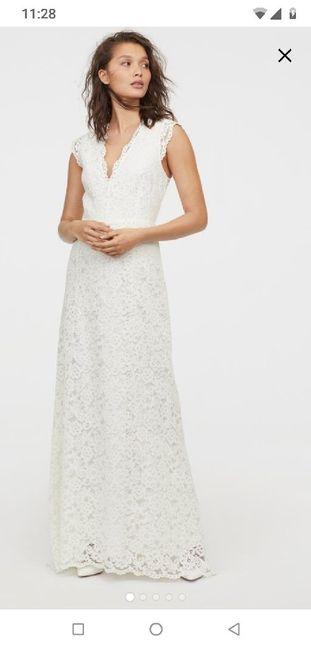 Vestido de novia (boda civil) 5