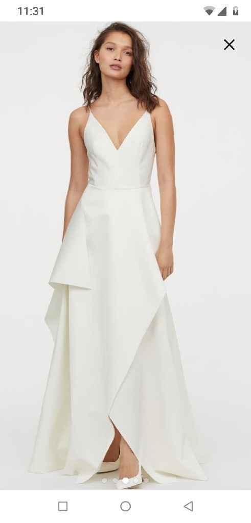 Vestido de novia (boda civil) - 2