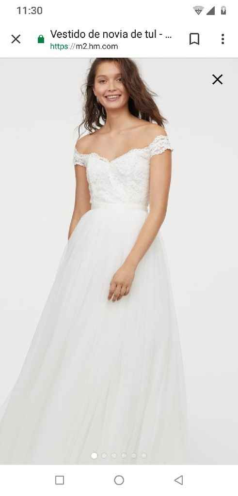 Vestido de novia (boda civil) - 3
