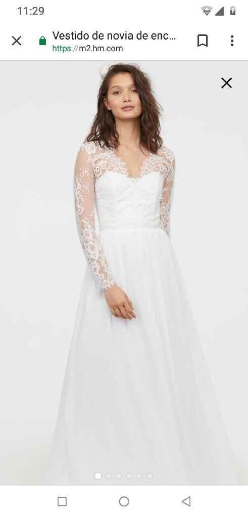 Vestido de novia (boda civil) - 4