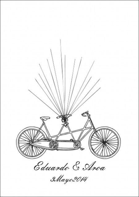 plantilla bici