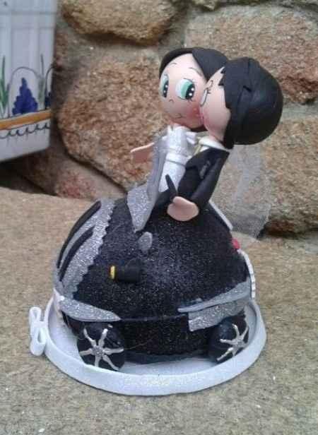 Los muñecos de la tarta de las ya casadas!! - 2