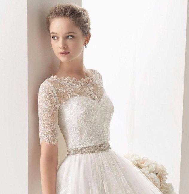 vestidos de novia con escote ilusion – vestidos baratos