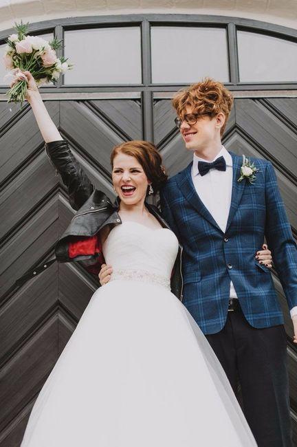 sÍ o no? ¡novia con cazadora de cuero! - moda nupcial - foro bodas