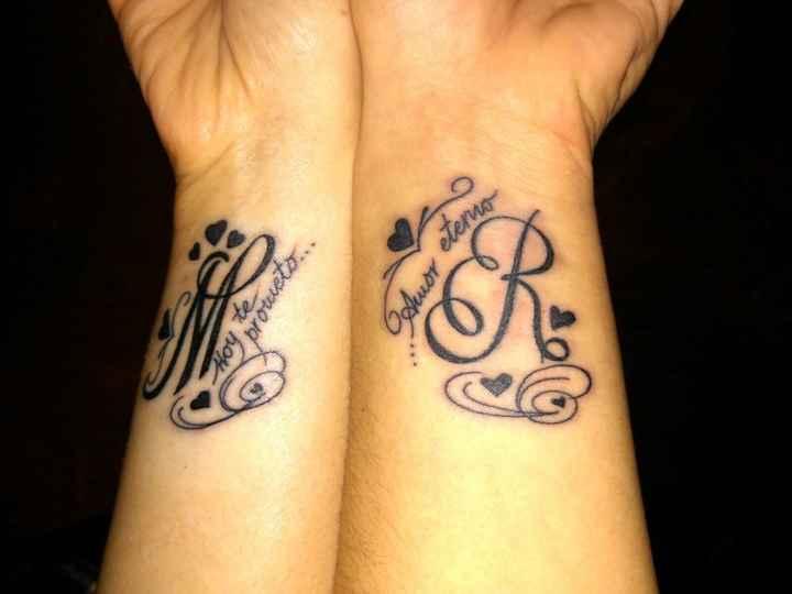 6 tattoos para parejas: ¡Vota por tu favorito! - 1