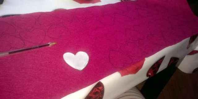 como hacer la forma de corazon