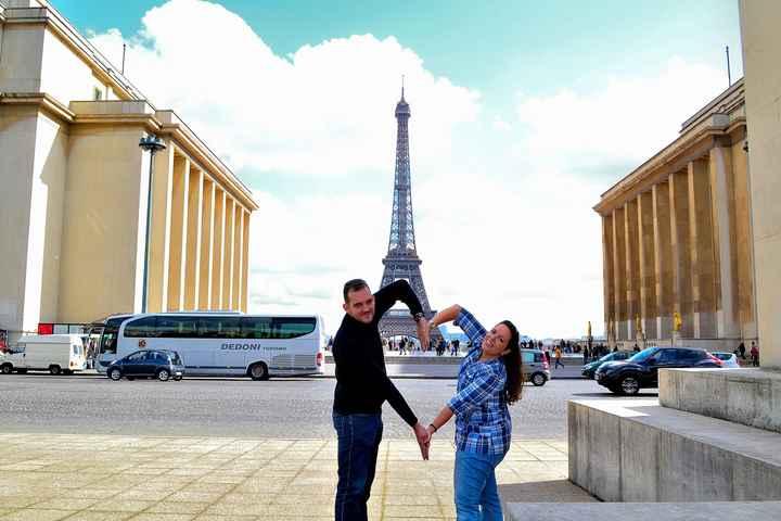 Corazoncito en Torre Eiffel