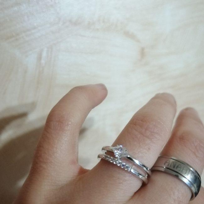 Pongamos todas nuestro anillo de compromiso 9