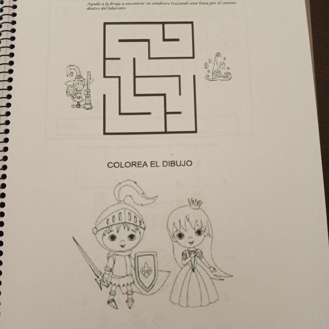 Mis libros de actividades personalizados 4