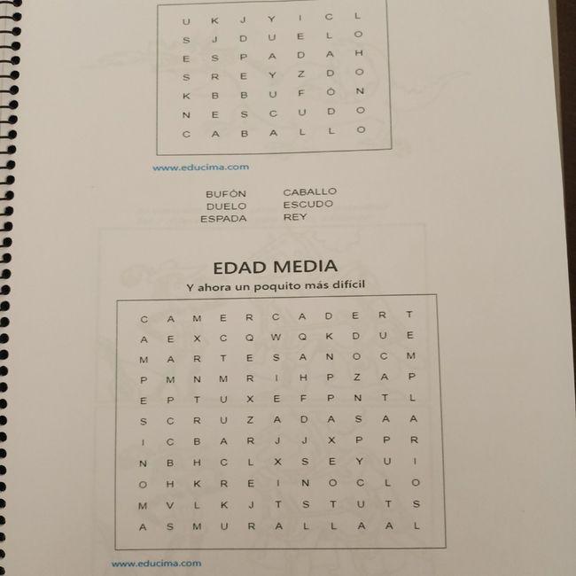 Mis libros de actividades personalizados 7