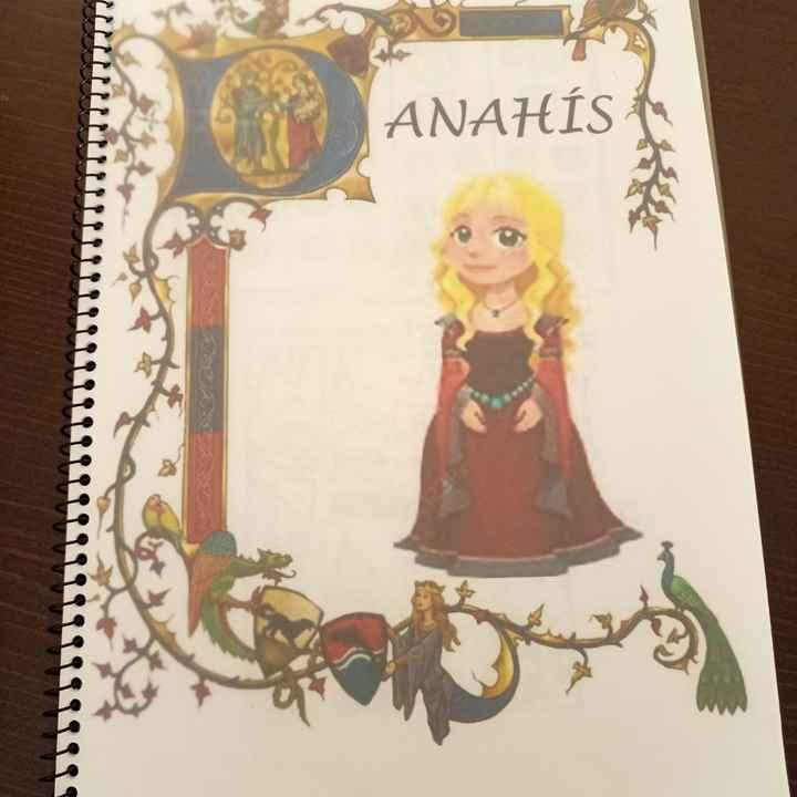 Mis libros de actividades personalizados - 1