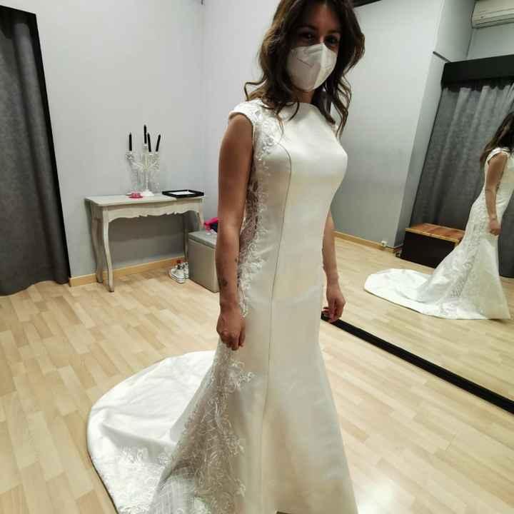 Segunda prueba de mi vestido - 2