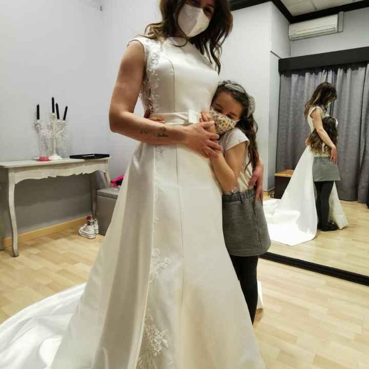 Segunda prueba de mi vestido - 3