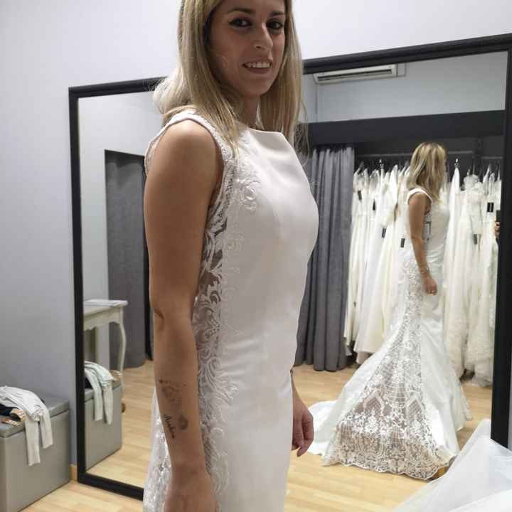 Segunda prueba de mi vestido - 1