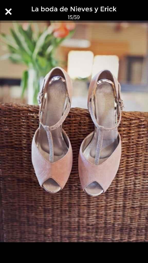 Zapatos de novia a medida. - 1