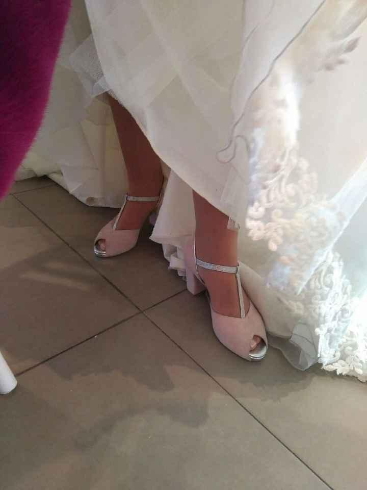 Zapatos de novia a medida. - 2