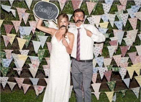 Photocall casero Organizar una boda Foro Bodasnet