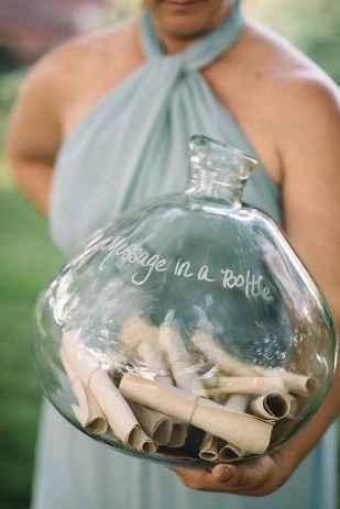 botella mensajes
