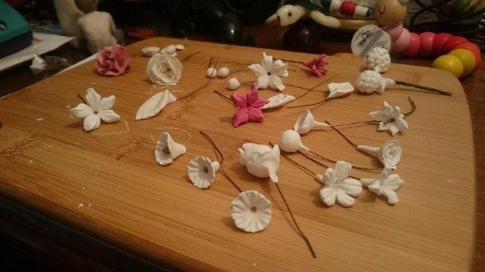 flores porcelana