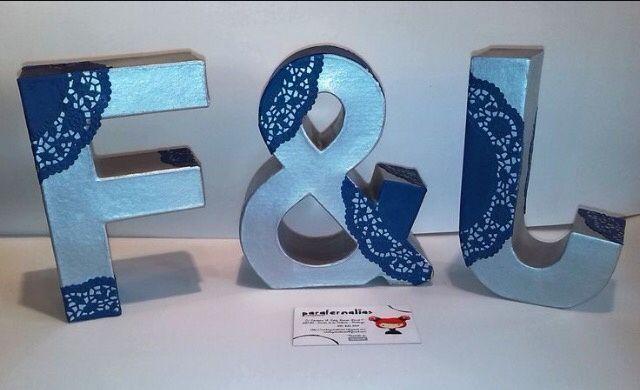 Forrar letras de corcho manualidades foro - Letras de corcho decoradas ...