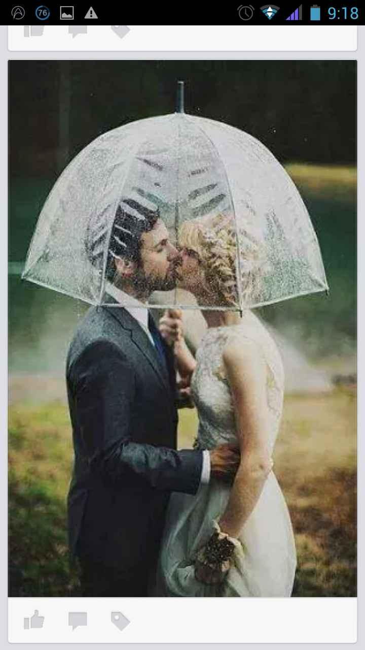Pedido en grupo de paraguas transparente muy kuki;) - 1