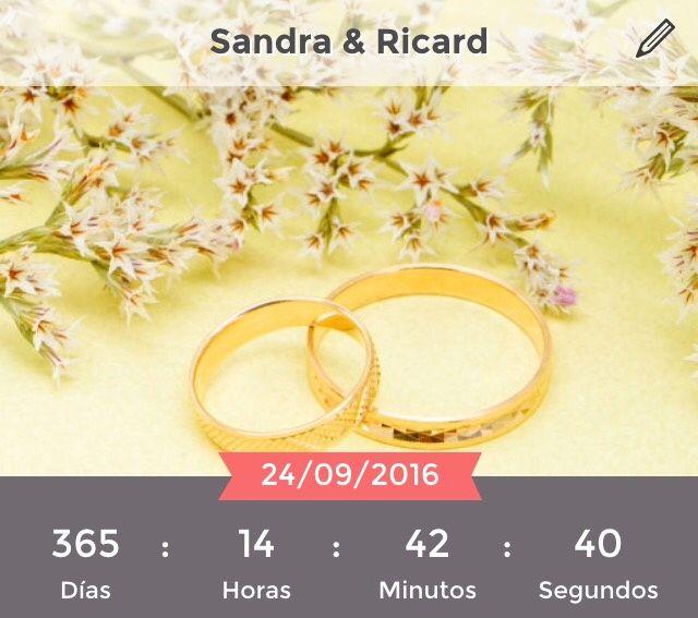 ¿Cuánto tiempo falta para tu boda? - 1