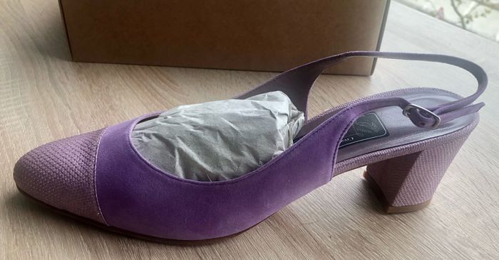 Ya tengo mis zapatos 💜 1