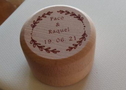 Caja anillos personalizada 1