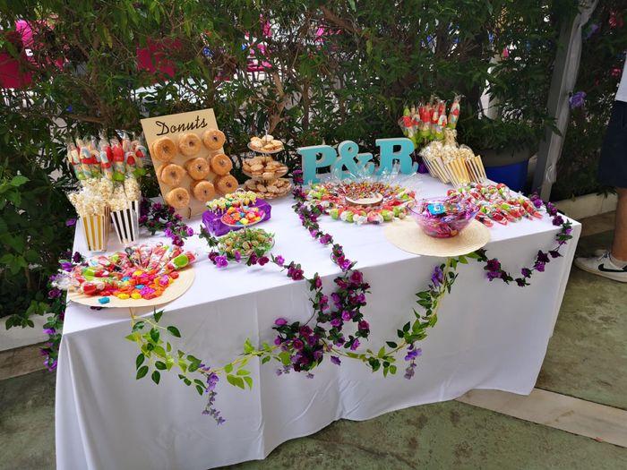 Mesa dulce diy 🍭 1